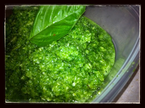 Low Fat Raw Vegan Pesto