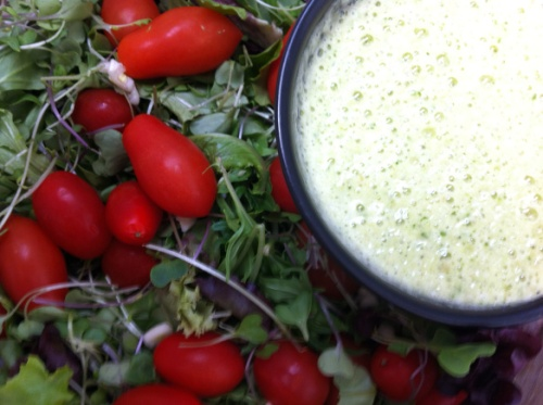 Hawaiian Pineapple Green Dressing