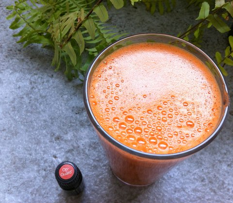 Flu Shot Carrot Juice