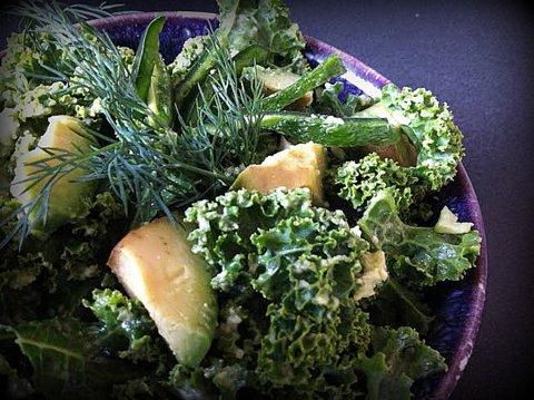 Kale Salad Dill-iciousness