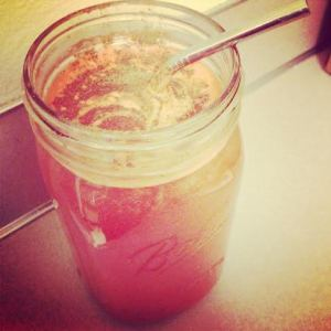 Carrot Juice with Ginger Essential Oil and Cinnamon