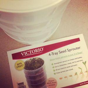 Wheatgrass Sprouter