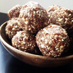 Coffee Spiked Breakfast Truffles